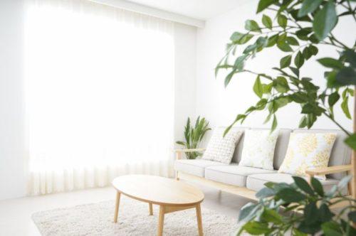 シンプルな部屋でで家事ストレスを軽減