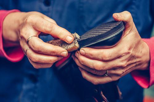 靴にカビが生えたときの対処法