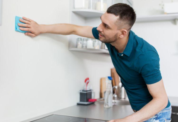 キッチン壁の掃除方法
