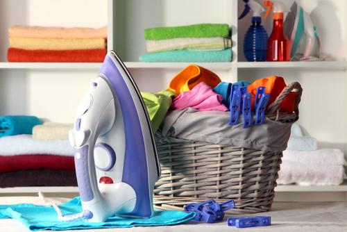洗濯かごを使用する