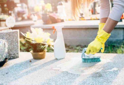 墓石の掃除に必要な道具