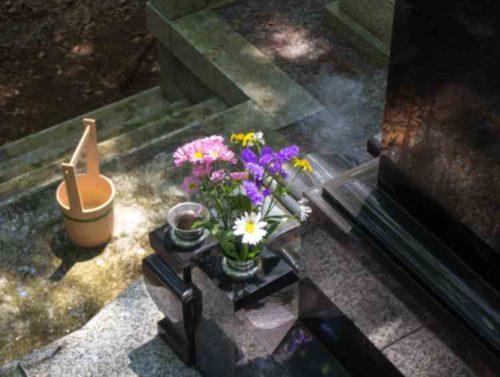 墓石が汚れる原因