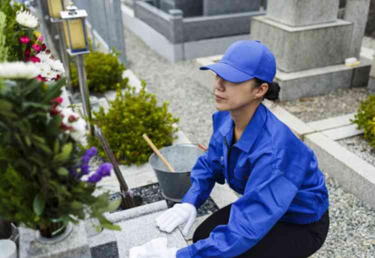 墓掃除の代行料金