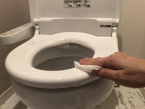 きれいなトイレを維持するには