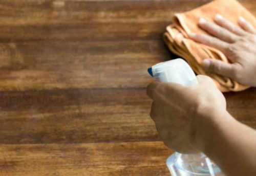 アルコール除菌スプレーの使い方