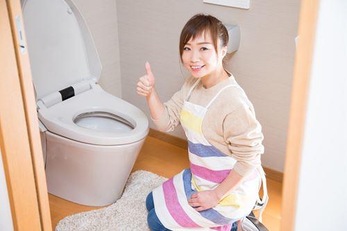 トイレ掃除を楽にするコツ