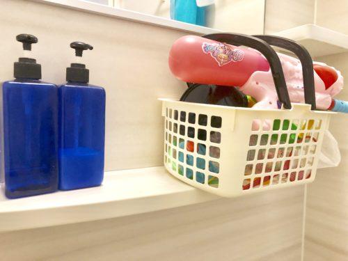 お風呂の小物掃除