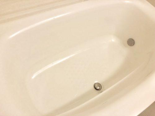 バスタブはお湯を抜いたらすぐ洗う