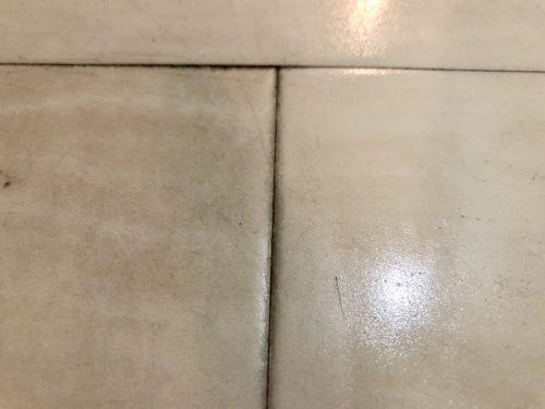 重曹を使った玄関掃除ビフォーアフター