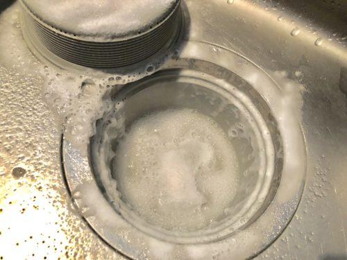 重曹の使い方 排水溝の掃除