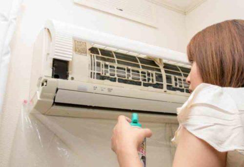 エアコン掃除は自分でできる