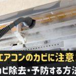 エアコンのカビ除去・予防方法