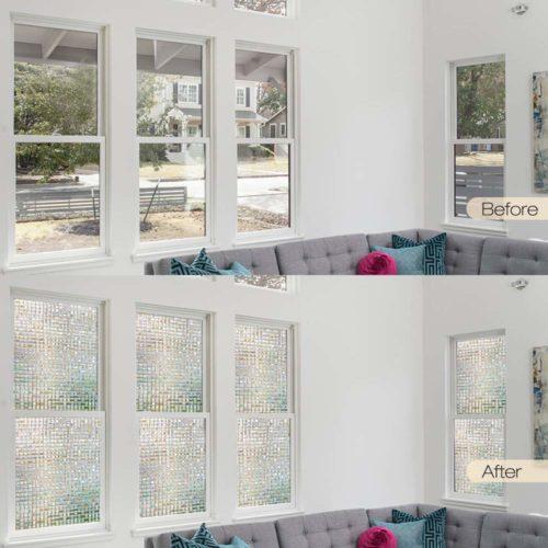 窓ガラス目隠しシート