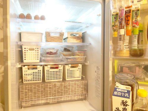冷蔵庫の収納を工夫する