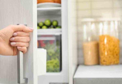 冷蔵庫の食材整理