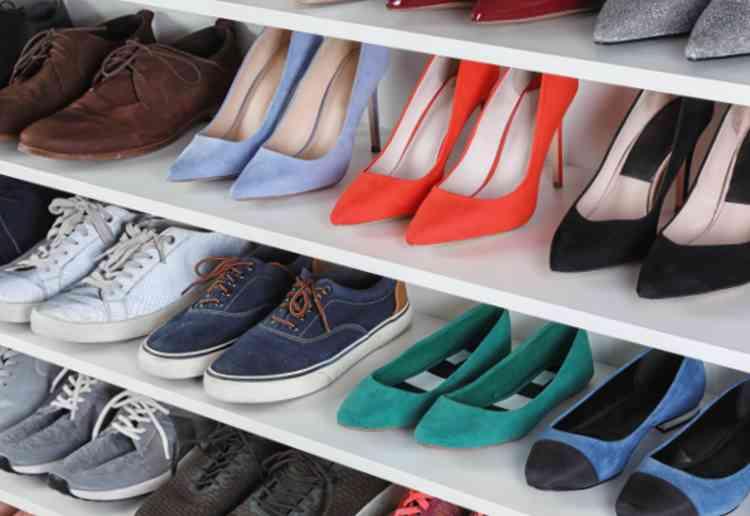 よく履く靴は取り出しやすいところへ