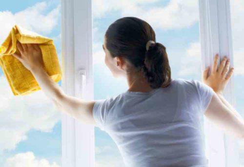 窓掃除やり方