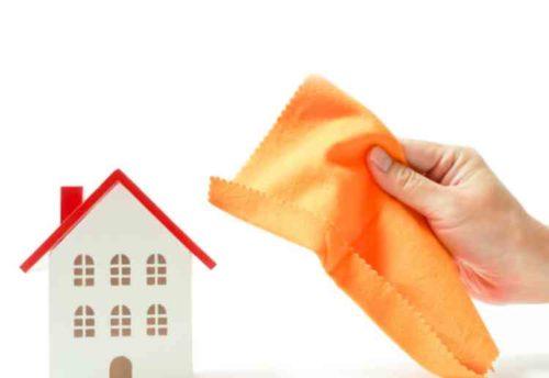 家中の掃除に