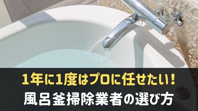 風呂釜掃除業者