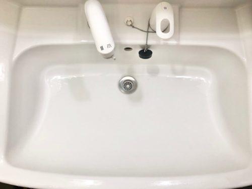 ウタマロクリーナーの使い方・洗面所3