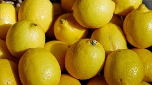 リンゴやレモンの皮・汁で掃除する
