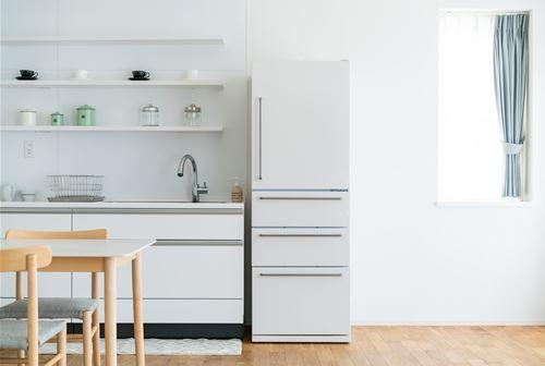 冷蔵庫の外側の掃除