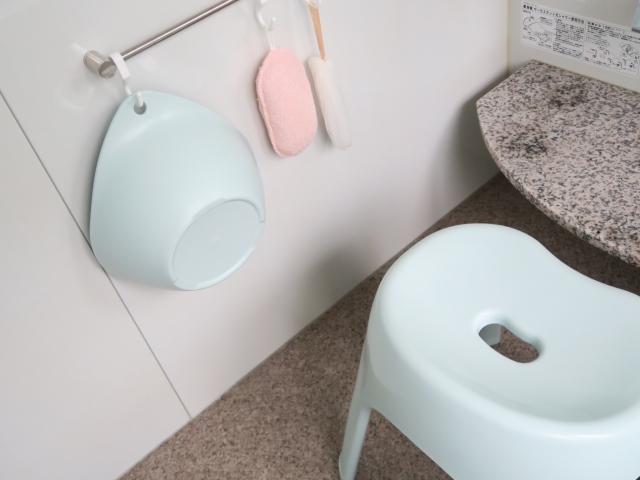 お風呂の椅子の汚れを防ぐ方法