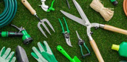 庭掃除の道具