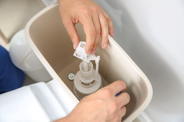 トイレタンクの掃除方法