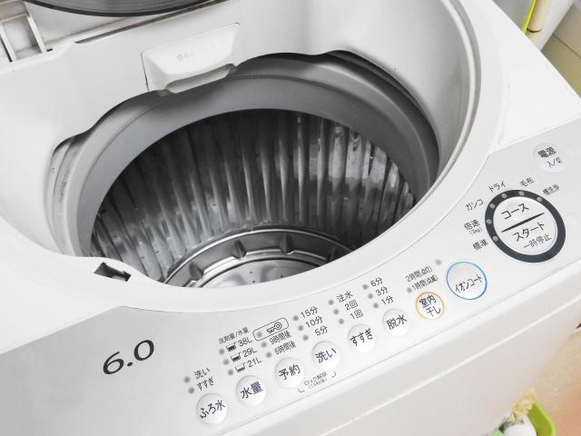 ワイドハイターの使い方、洗濯機編