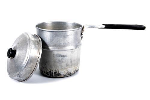 アルミや銅の鍋の焦げ落としはクレンザーを使う