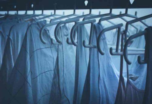 洗濯物の夜干しまとめ