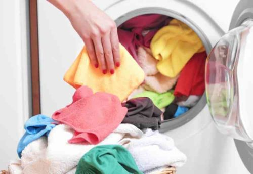洗濯物を詰め込み過ぎない