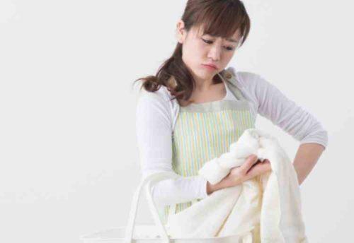 洗濯物が汗臭い原因
