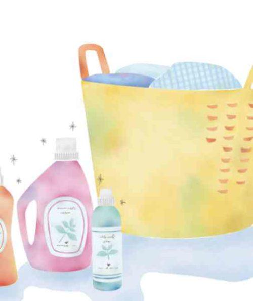 部屋干し用洗剤