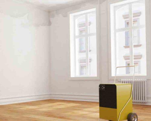 部屋の湿度と換気