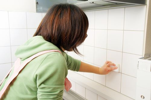 キッチンの油汚れ