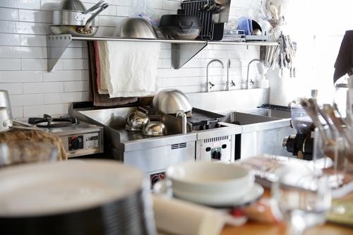 キッチンの汚れ
