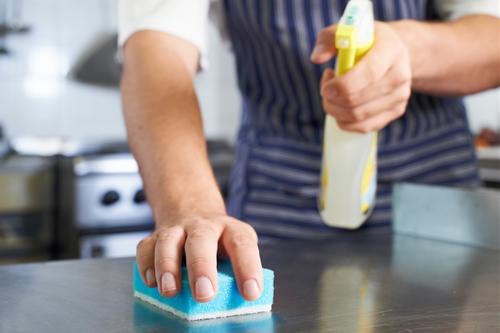 キッチン掃除の進め方