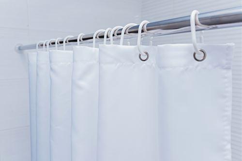 シャワーカーテンの軽いカビ