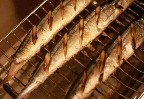 魚焼きグリルの汚れ