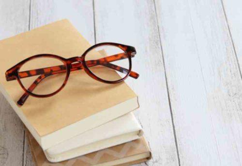 セルロイドのメガネはアルコール厳禁