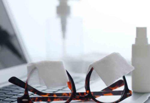 メガネ 正しい洗い方