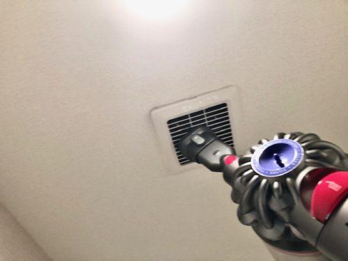 換気扇のホコリ掃除