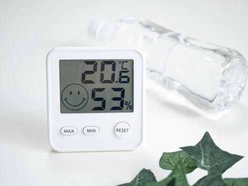 適切な温度と湿度