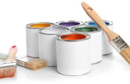 ペンキを塗る