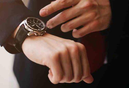革ベルトの腕時計クリーニング方法