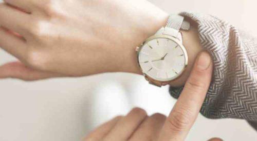 腕時計の汚れ