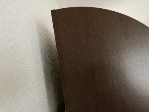 壁との間に5cmほど隙間を空ける
