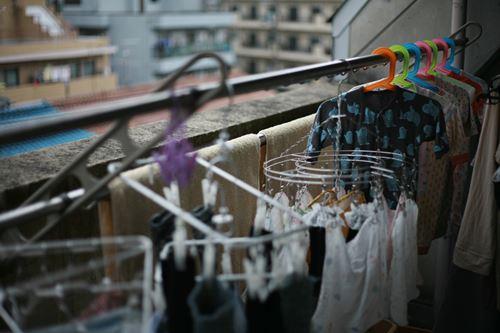 洗濯物が乾かない・部屋干し